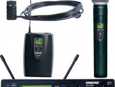 Shure ULX Receiver and Mics