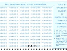 Hawaii (Penn) State ½ sheet H1 form back