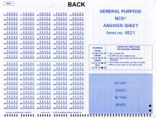 NCS General Purpose back