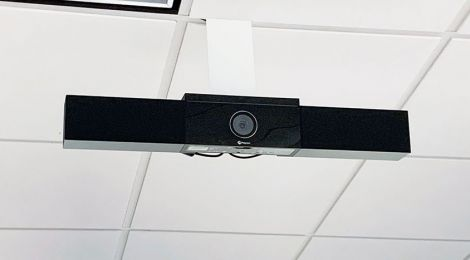 Newly installed webcam
